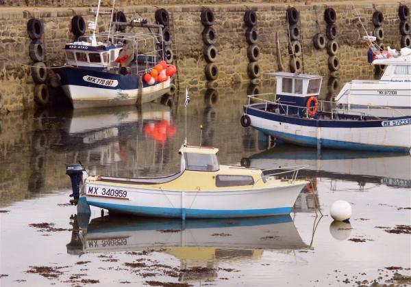 Reflets de bateaux