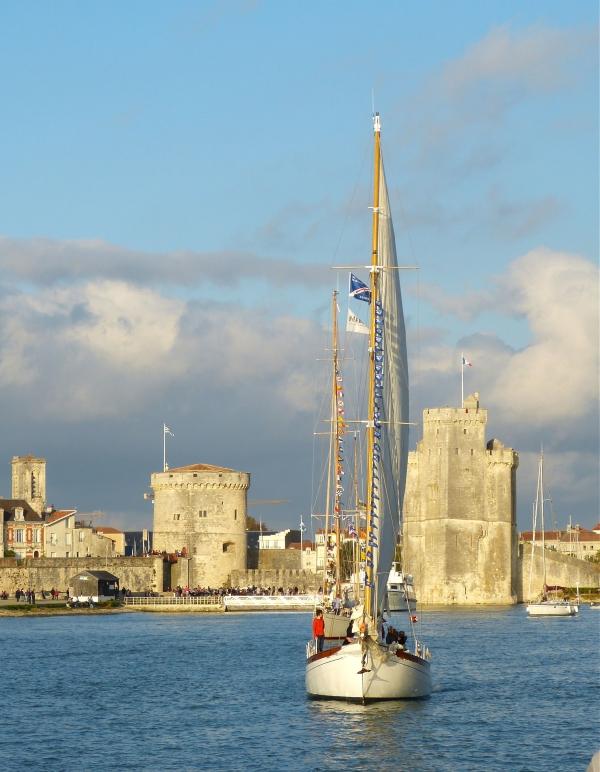 Entre les tours de La Rochelle