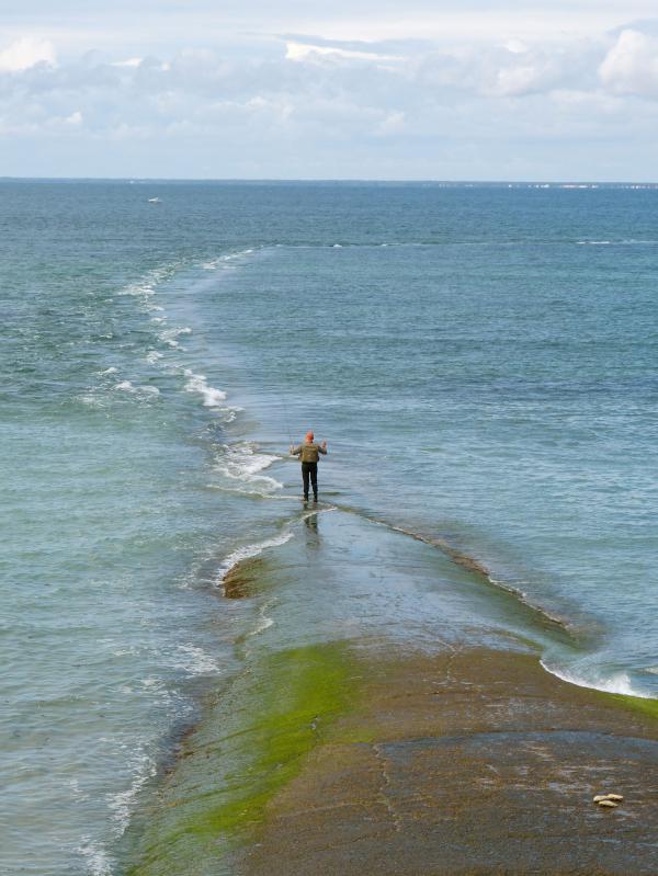 Pêcheur de l'île de Ré